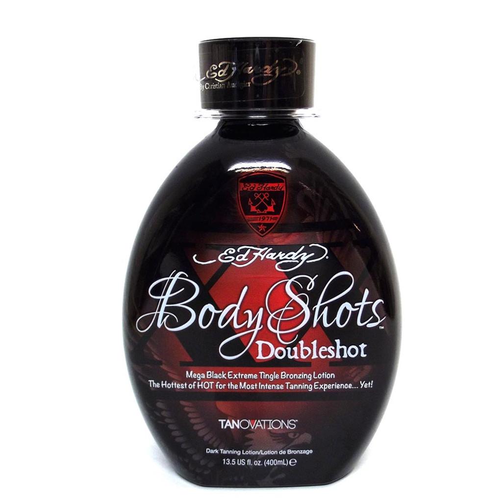 Ed Hardy BODY SHOTS DOUBLESHOT Tingle Bronzer - 13.5 oz.