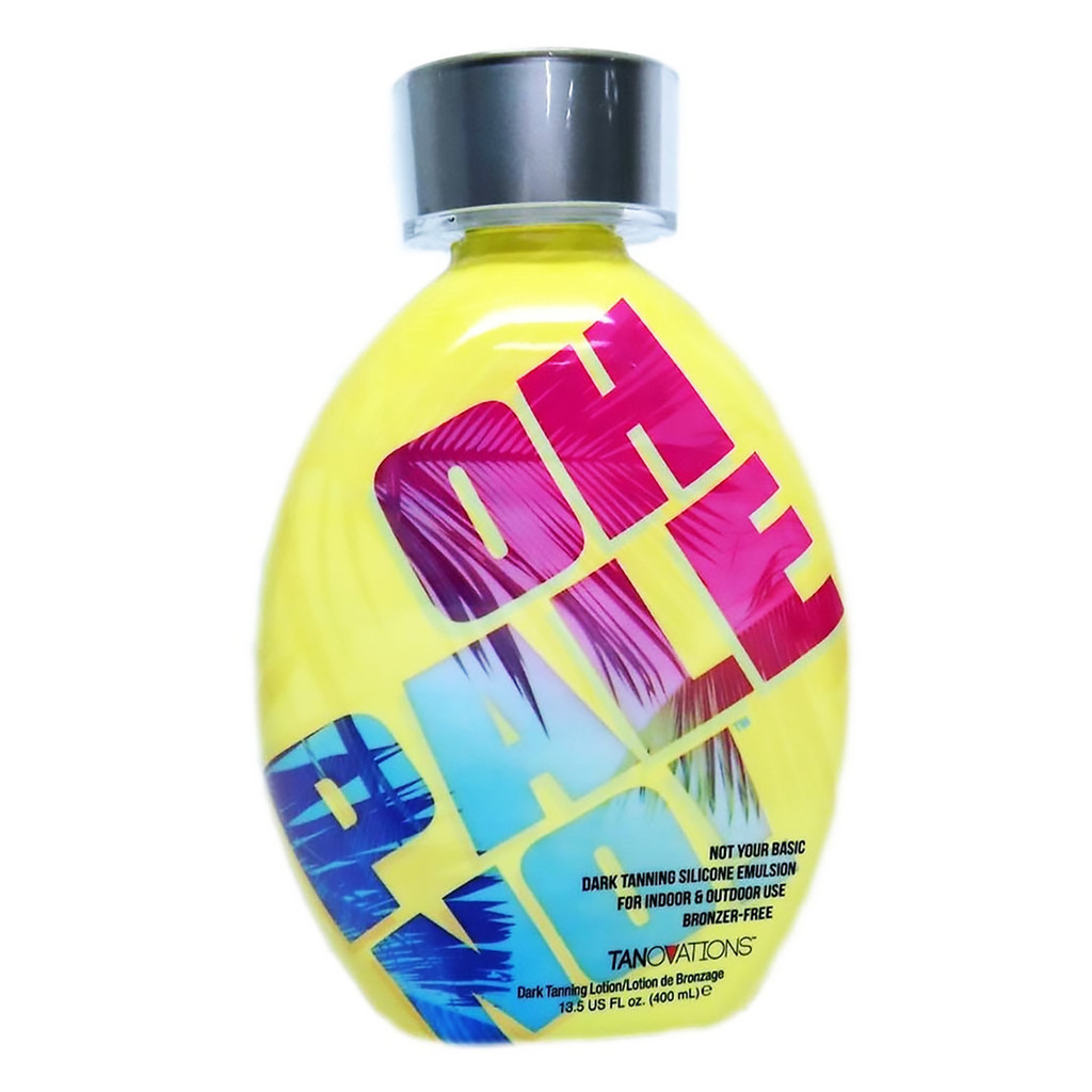 Tanovations OH PALE NO! Dark Tanning Silicone Emulsion - 13.5 oz.