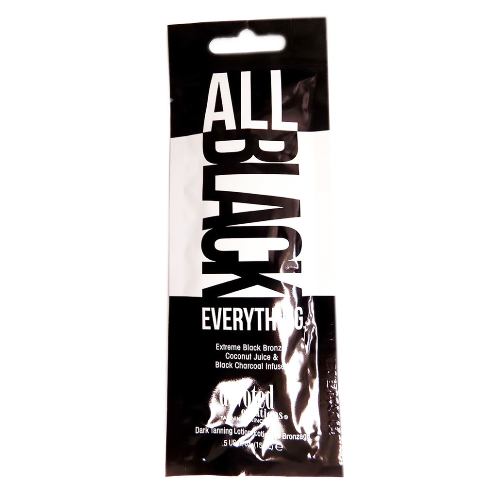Devoted Creations ALL BLACK EVERYTHING Extreme Black Bronzer - .5 oz. Packet