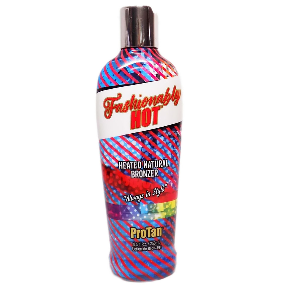 Pro Tan FASHIONABLY HOT Heated Natural Bronzer - 8.5 oz.