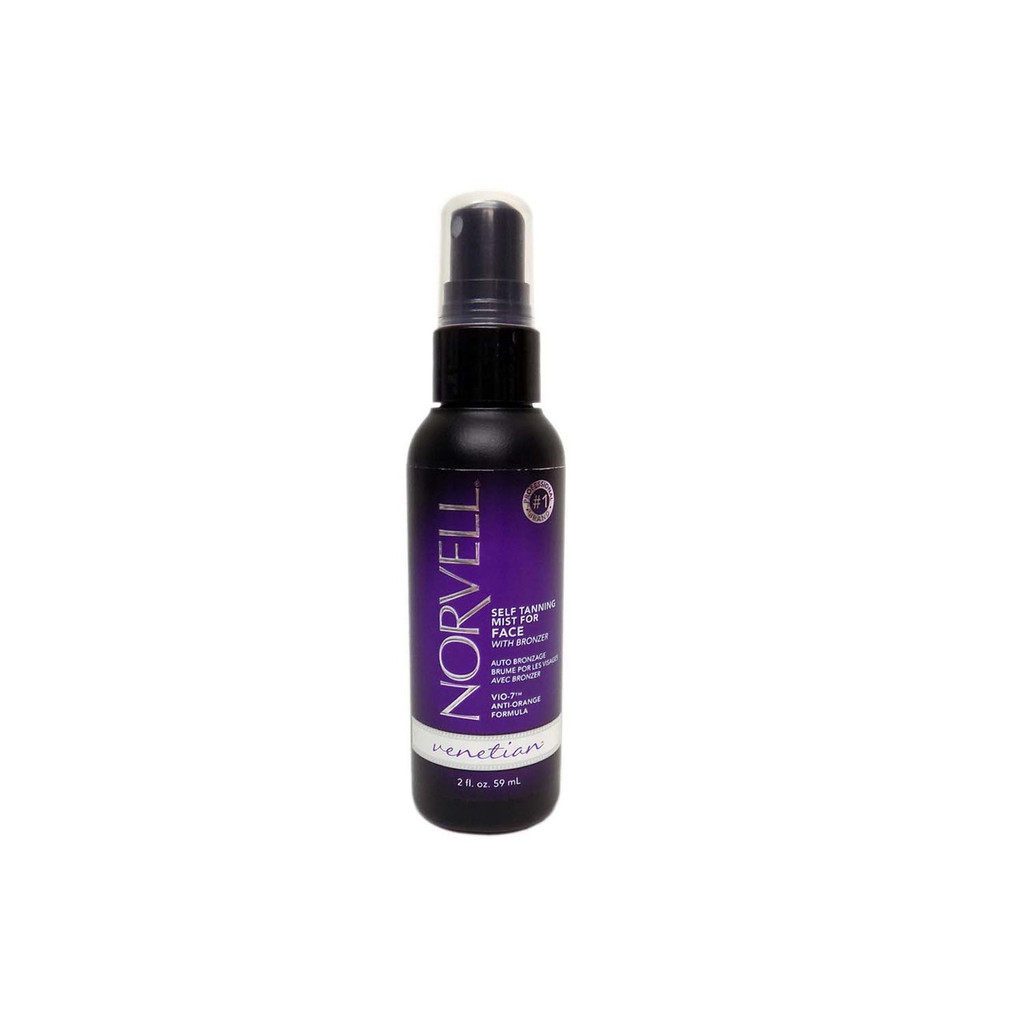 Norvell VENETIAN SELF TANNING MIST FOR FACE With Bronzer - 2 oz. (VENETIAN FOR FACES)