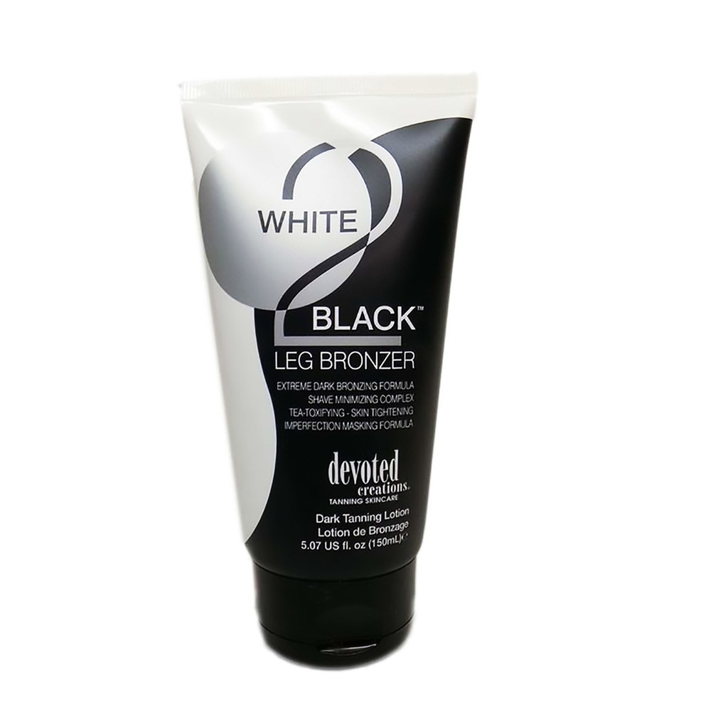 Devoted Creations WHITE 2 BLACK LEG BRONZER - 5.07 oz