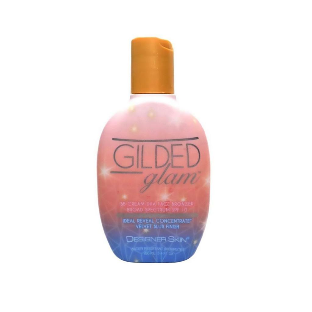 Designer Skin GILDED GLAM BB Cream DHA Face Bronzer SPF 10 - 3.4 oz.