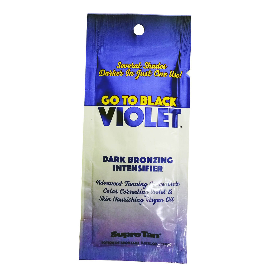 Supre Go to Black Violet DHA Bronzer - .57 oz. Packet