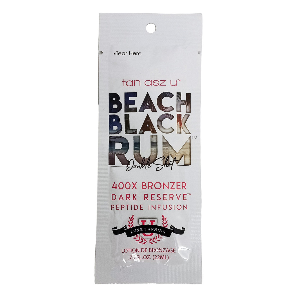 Tan Asz U Beach Black Rum 400X - .75 oz. Packet