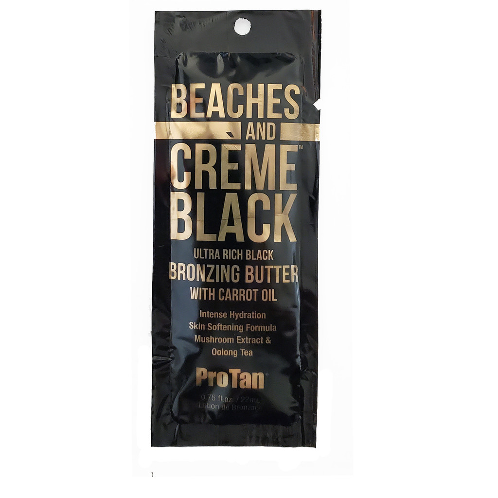 ProTan Beaches & Crème Black Butter .75 oz. Packet