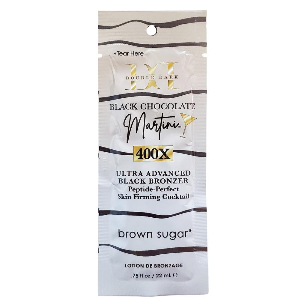 Brown Sugar Double Dark Black Chocolate Martini Ultra-Advanced Black Bronzer  - .75 oz. Packet
