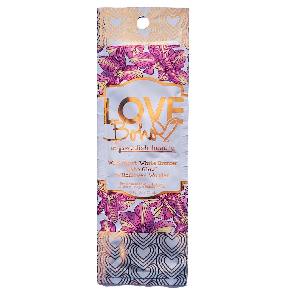 Swedish Beauty Love Boho Wild Heart White Bronzer - .5 oz. Packet