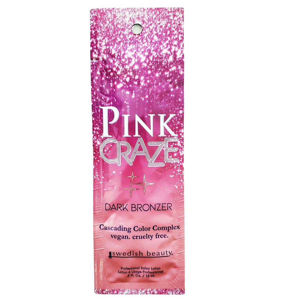 Swedish Beauty Pink Craze Dark Bronzer - .5 oz. Packet