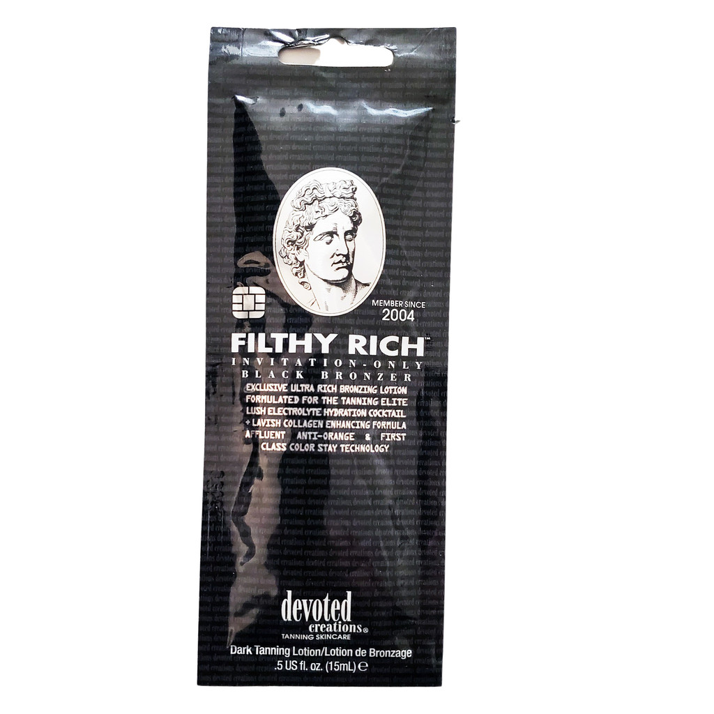 Devoted Creations Filthy Rich Exclusive Ultra Rich Bronzer - .5 oz. Packet