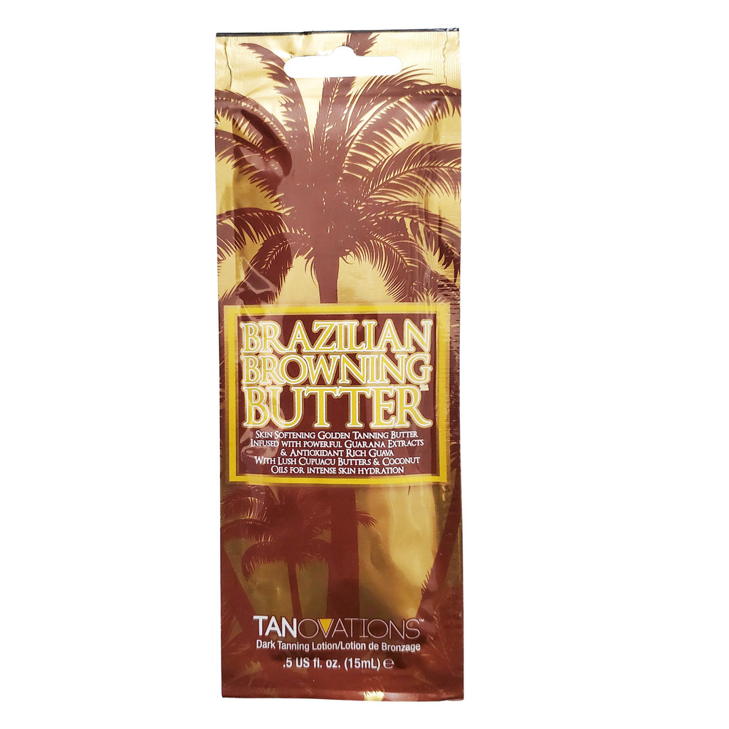Tanovations Brazilian Browning Butter - .5 oz. Packet