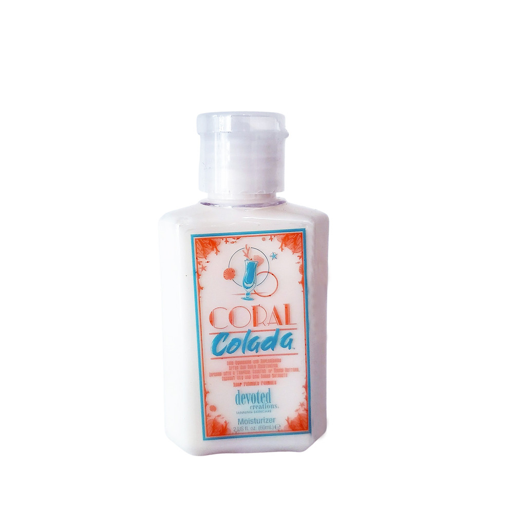 Devoted Creations Coral Colada After Sun & Daily Moisturizer Mini - 2 oz.