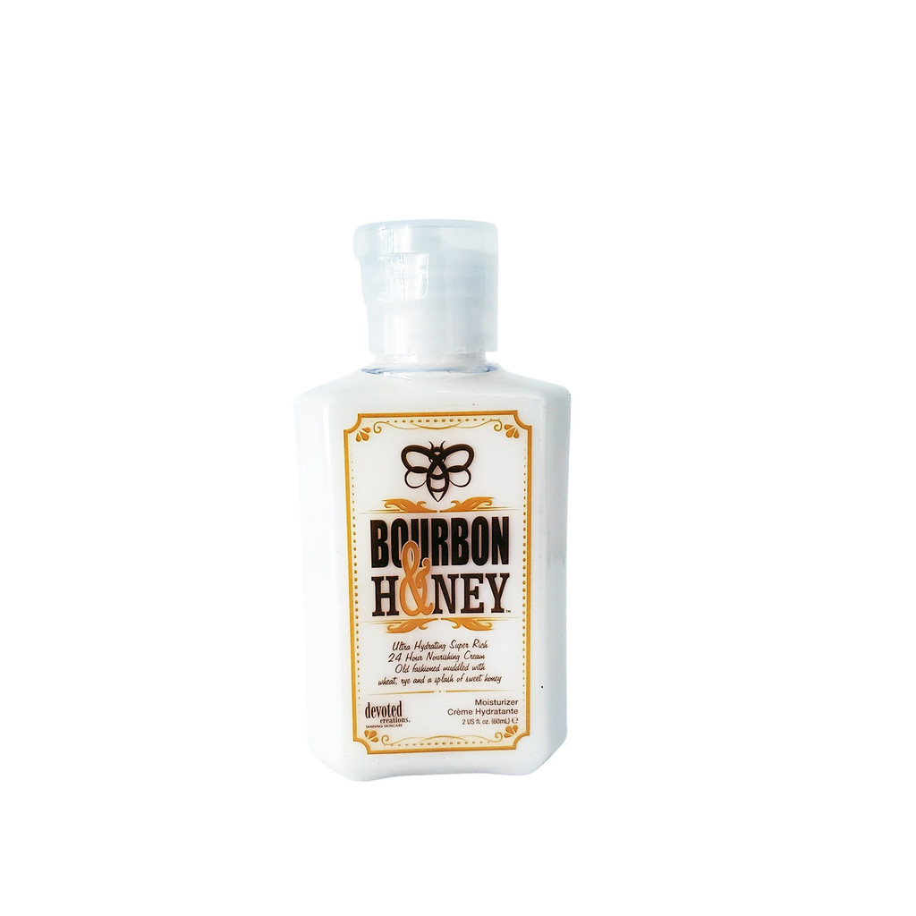 Devoted Creations BOURBON & HONEY Nourishing Body Cream Mini - 2 oz.