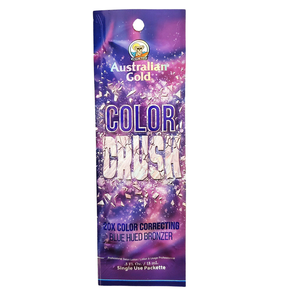 Australian Gold Color Crush 20X Color Correcting Blue Hued Bronzer  - .5 oz. Packet