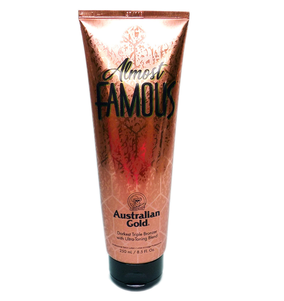 Australian Gold Almost Famous Darkest Triple Bronzer - 8.5 oz.