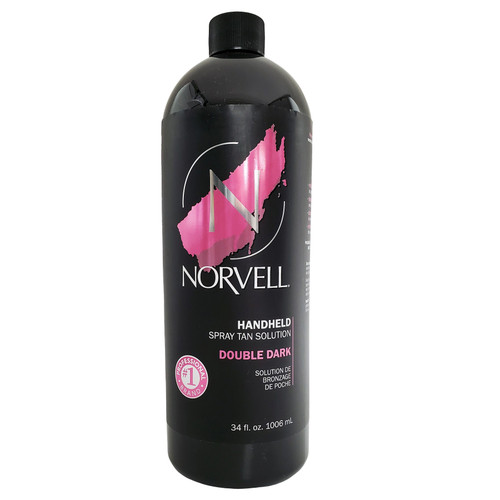 Norvell Premium Sunless Tanning Solution - Double Dark 34 oz./1 Liter