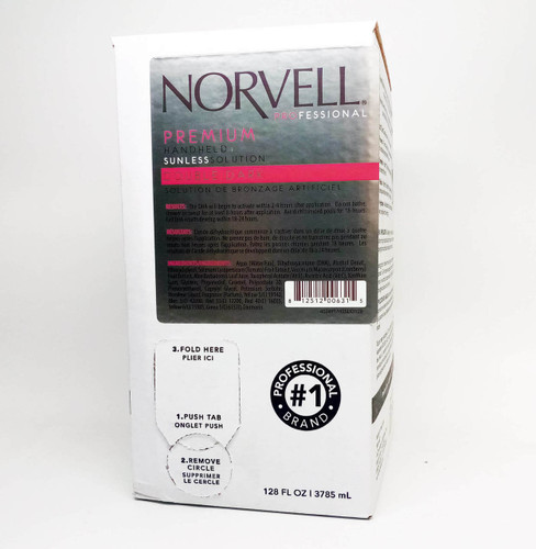 Norvell Sunless Spray Solution Double Dark 11.5% - 1 Gallon