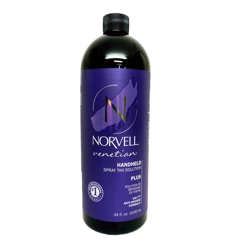Norvell Venetian Plus Spray Tan Solution - 34 oz.