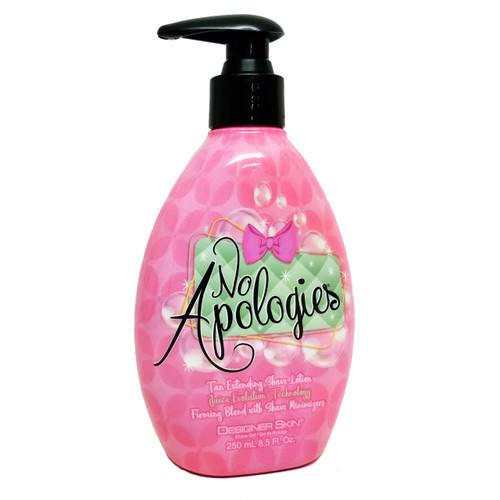 Designer Skin NO APOLOGIES Tan Extending Shave Lotion - 8.5 oz.