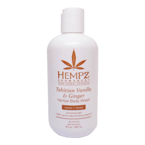 Hempz  Aromabody TAHITIAN VANILLA & GINGER Body Wash - 8 oz.