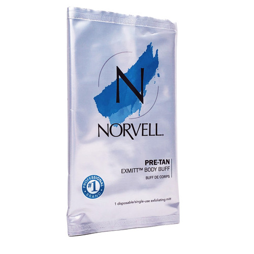Norvell Pre Sunless Body Buff eXmitt - Single Mitt