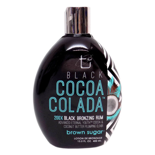 Brown Sugar BLACK COCOA COLADA Bronzing Rum - 13.5 oz.