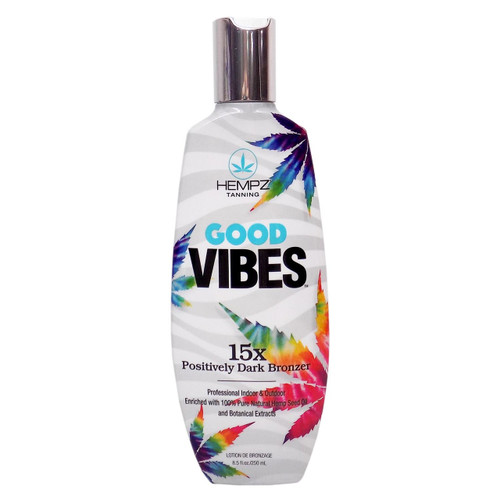 Hempz GOOD VIBES 15X Dark Bronzer - 8.5 oz.
