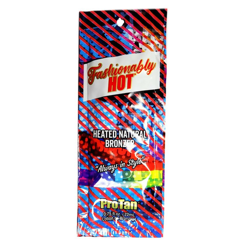 Pro Tan FASHIONABLY HOT Heated Natural Bronzer - .75 oz. Packet