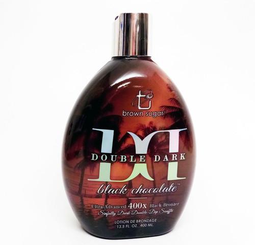 Brown Sugar DOUBLE DARK BLACK CHOCOLATE 400x Black Bronzer - 13.5 oz.