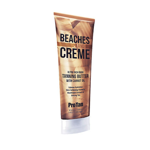 ProTan BEACHES AND CREME Ultra Dark Tanning Butter- 8.5 oz.