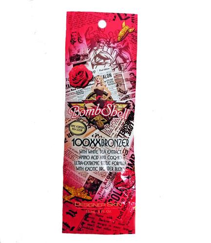 Designer Skin BOMBSHELL 100XX Ultra Extreme Sizzle Bronzer - .5 oz. Packet