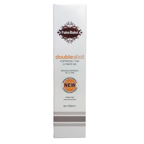 Fake Bake Double Shot Espresso Tan Ultimate Gel - 4 oz.