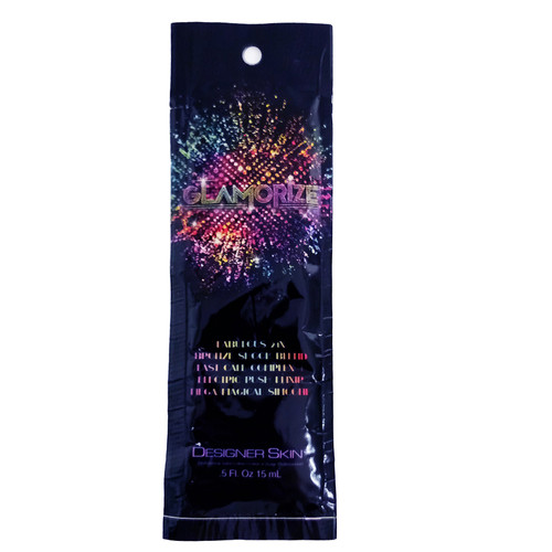 Designer Skin Glamorize Fabulous 24X Bronze Shook Blend - .5 oz. - Packet