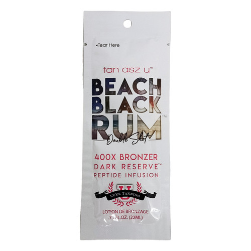 Tan Asz U Beach Black Rum 400X - .75 oz. Packet