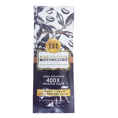 Brown Sugar Black Chocolate Double Dark Mochaccino 400X - .75 oz. Packet