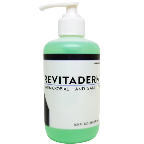 BlaineLabs Revitaderm Antimicrobial Hand Sanitizer 8.0 Fl. Oz.