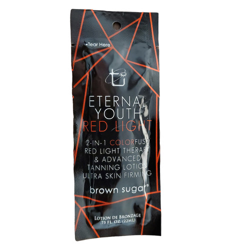 Brown Sugar Eternal Youth Red Light Advanced Tanning Lotion  - .75 oz. Packet