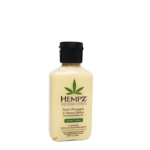 Hempz SWEET PINEAPPLE & HONEY MELON Moisturizer 2.25oz Mini
