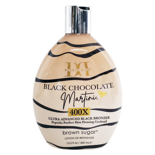 Brown Sugar Double Dark Black Chocolate Martini Ultra-Advanced Black Bronzer - 13.5 oz.