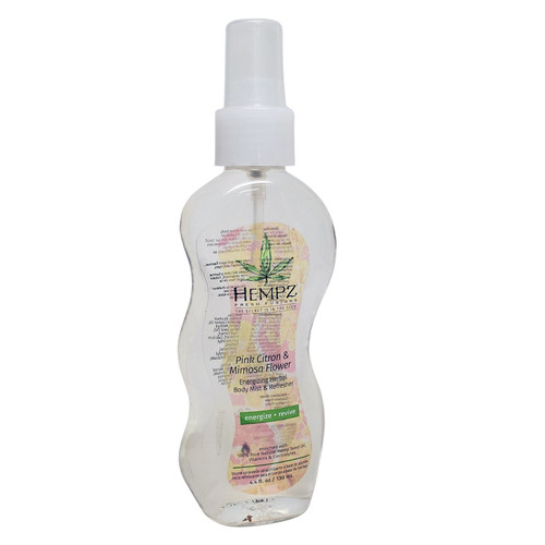 Hempz Fresh Fusions Pink Citron & Mimosa Flower Body Mist 4.4oz
