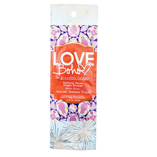 Swedish Beauty Love Boho Festival Fever Tingle Bronzer - .5 oz. Packet