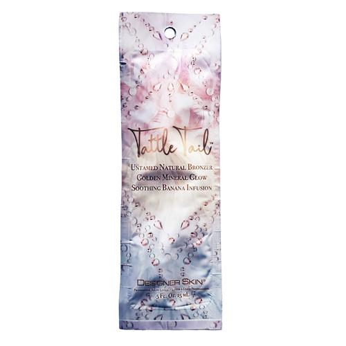 Designer Skin Tattle Tail Untamed Natural Bronzer with Golden Mineral Glow  .5 oz. - Packet
