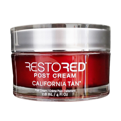 California Tan Restored Post Cream 4oz