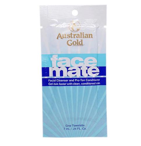 Australian Gold FACE MATE - Pre-Tan Face Conditioner - 1/Towelette