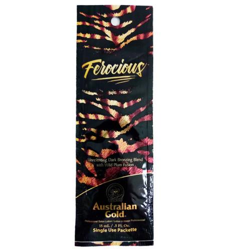 Australian Gold FEROCIOUS Dark Bronzing Blend - .5 oz. Packet