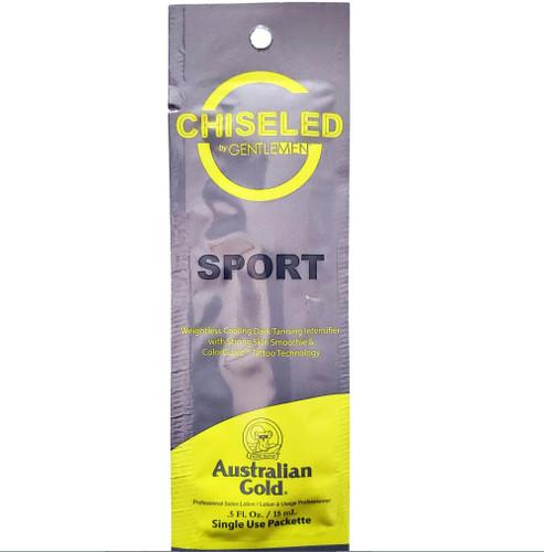 Australian Gold Chiseled by G Gentlemen Weightless Cooling Dark Tanning Intensifier - .5 oz. - Packet
