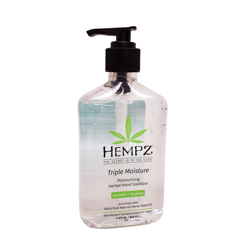 Hempz Triple Moisture Herbal Hand Sanitizer 8.5oz