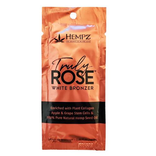Hempz Truly Rose White bronzer - .57 oz. Packet