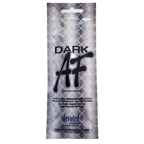 Devoted Creations Dark AF Transfer Resistant Advanced Formula Dark Bronzer .50 oz. Packet