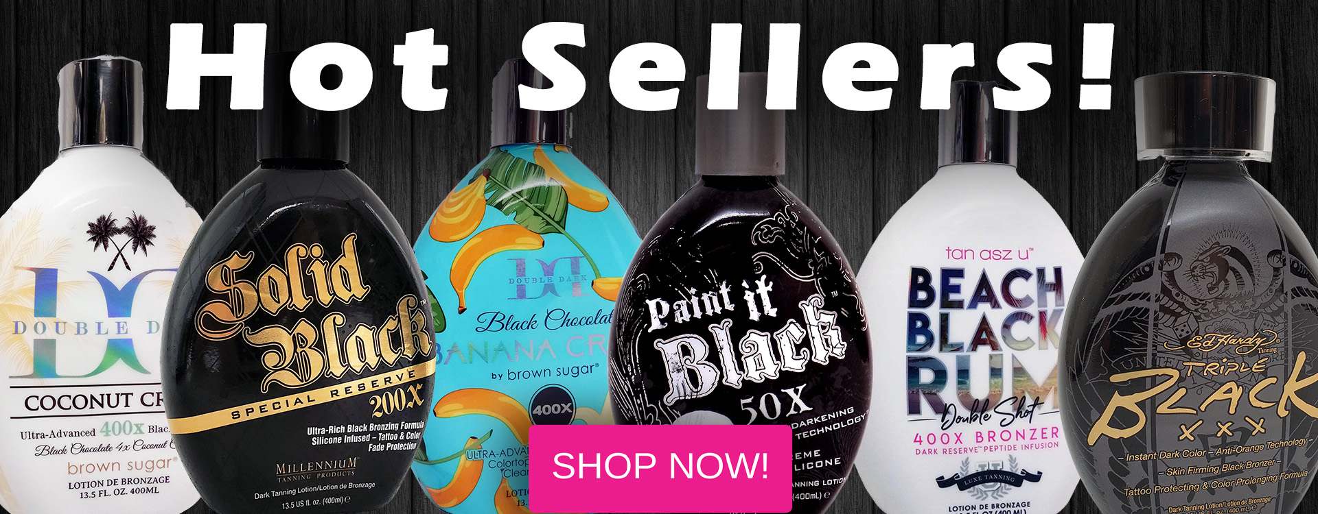 Hot sellers Tanning Lotions
